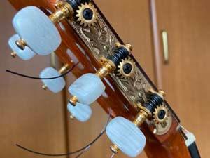フラメンコギター ペグ