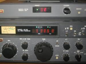 JRC(日本無線)受信機 数値