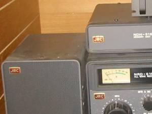 JRC(日本無線)受信機 汚れ ホコリ