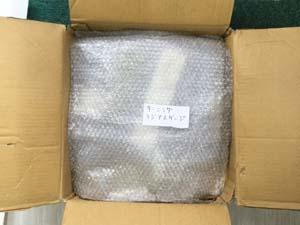 ターニングラジアスゲージの梱包