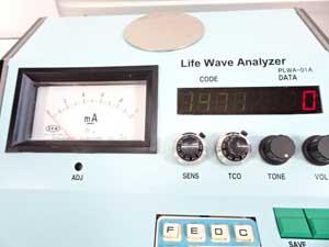 LWA波動測定器 ライトウェーブアナライザ 動作